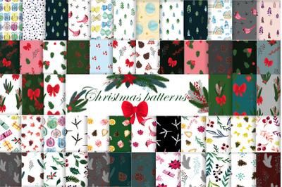 Christmas patterns. Christmas. Ornament.