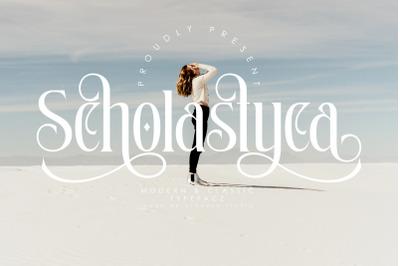 Scholastyca | Serif Typeface