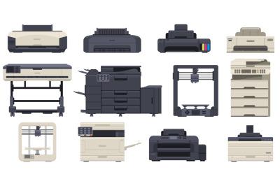 Printer office work professional scanner copier machines. Office techn