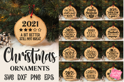 2021 Christmas Ornaments Bundle