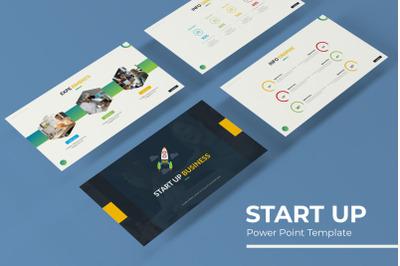 Start Up Power Point Template