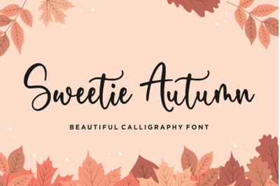 Sweetie Autumn Beautiful Calligraphy Font