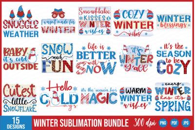 Winter Sublimation Bundle