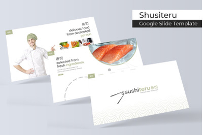 Sushiteru Google Slide Template