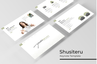 Sushiteru Keynote Template