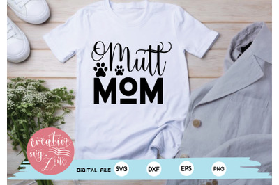 Mutt Mom svg