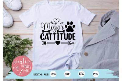 Major Cattitude svg