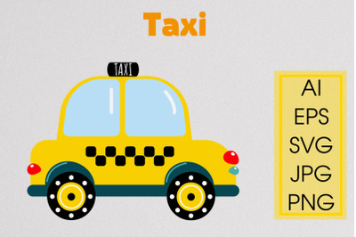 TAXI - SVG