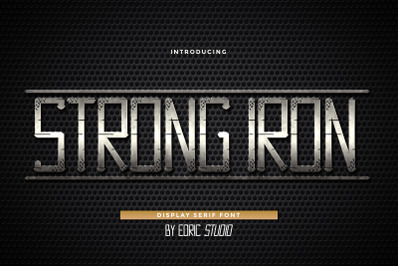 Strong Iron