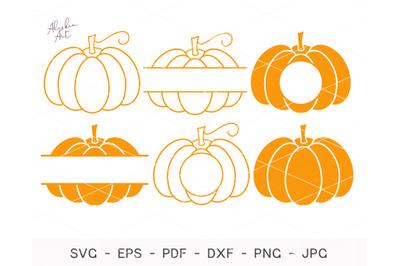 Pumpkin SVG, Pumpkin Bundle Svg, Pumpkin clipart, Pumpkin set svg, Fal