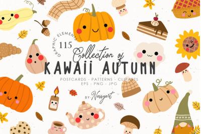 Autumn Kawaii Cozy Fall Set