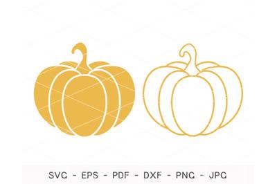 Pumpkin SVG, Pumpkin Bundle Svg, Fall Pumpkin Svg, Silhouette svg,Cric