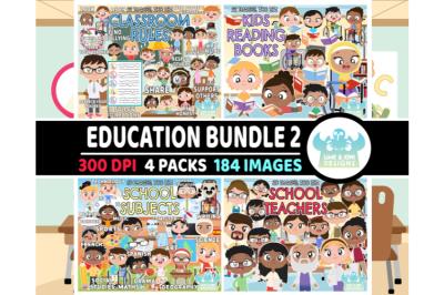 Education Clipart Bundle 2 - Lime and Kiwi Designs