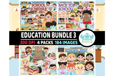 Education Clipart Bundle 3 - Lime and Kiwi Designs