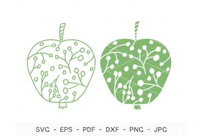 Apple SVG, Apple Bundle Svg, Cricut, Cutting Files, Fall Apple Svg