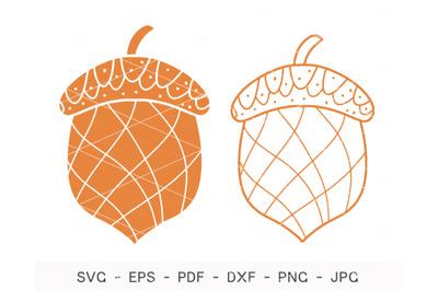 Acorn SVG, acorn Bundle Svg, Cricut
