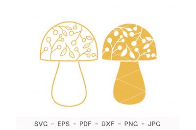 Mushroom svg, Mushroom Clipart, halloween svg