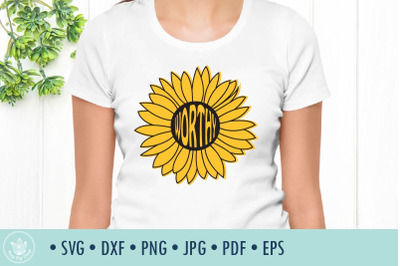 Sunflower Worthy SVG cut file