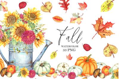 Fall Clipart Set
