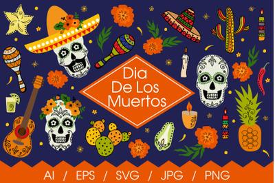 Dia De Los Muertos - SVG
