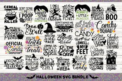 Halloween Bundle Svg Volume 2, Happy Halloween Svg, Spooky Svg.