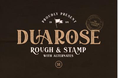 Duarose Serif - Vintage Version