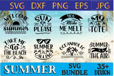 Summer Svg Design Bundle