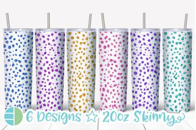 Cheetah Tumbler - Cheetah Print Skinny Tumbler Sublimation Bundle