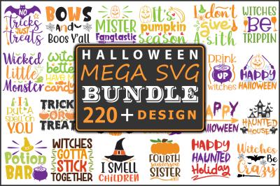 Halloween Mega SVG Bundle