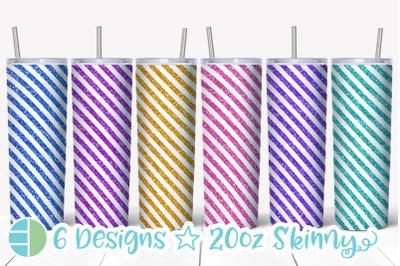 Stripes Tumbler - Stripes Skinny Tumbler Sublimation Bundle