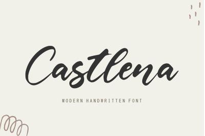 Castlena Modern Handwritten Font