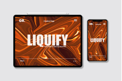 Liquify Abstract Background