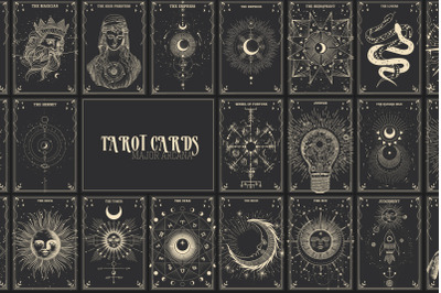 Tarot cards. Major Arcana