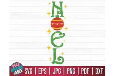 Noel SVG   Christmas Porch Sign SVG