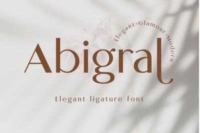 Abigral - Minimal Sans