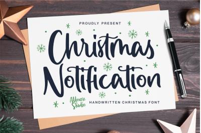 Christmas Notification