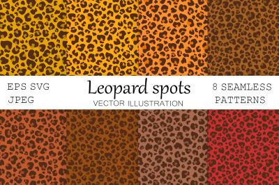 Leopard Spots. Autumn Leopard. Leopard print. Leopard SVG