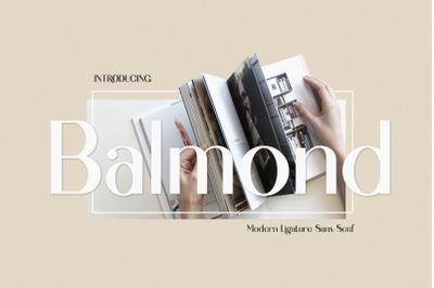 Balmond Modern Ligature Sans Serif