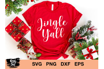 Jingle Y'all svg