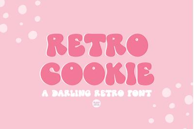 RETRO COOKIE Playful Vintage Font