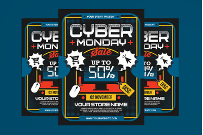 Cyber Monday Sale Flyer
