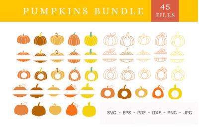 Pumpkin SVG file,Pumpkin svg bundle, Halloween svg