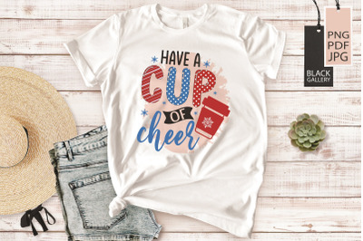 Cocoa Bar Sublimation | Have A Cup Of Cheer