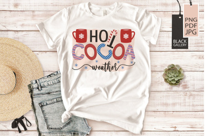 Cocoa Bar Sublimation | Hot Cocoa Weather