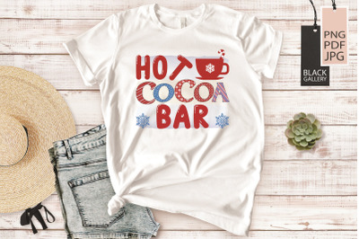 Cocoa Bar Sublimation | Hot Cocoa Bar