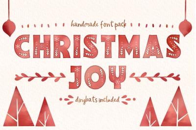 Christmas Joy font pack!