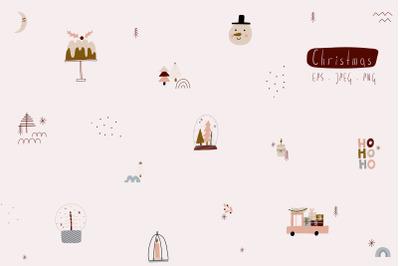 Christmas minimalism collection