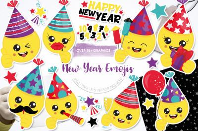 New Year Emojis
