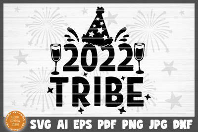 2022 Tribe Happy New Year SVG Cut File