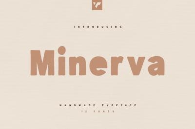 Minerva Handwritten typeface